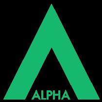 Kappa Bar partner Alphas green logo